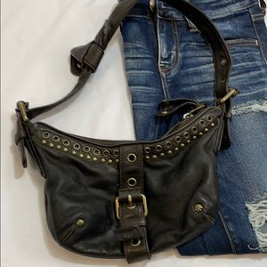 Marc Jacobs Leather Hobo Bag grommet
